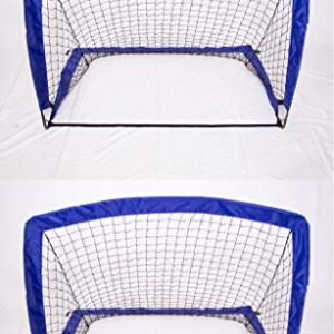 Hyland Athletics Fortnet 4′ x 3′ Easy Set Up Soccer Goal x2